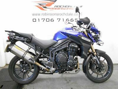 2012 12 Plate Triumph Tiger Explorer 1215 in stunning Blue with 16400 miles