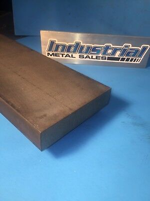 "A-36 Hot Rolled Steel Flat Bar 1-1/4"" x 5-1/2"" x 12""-Long-->STEEL MILL STOCK"