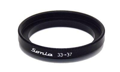 Metal Step up ring 33mm to 37mm 33-37 Sonia New Adapter