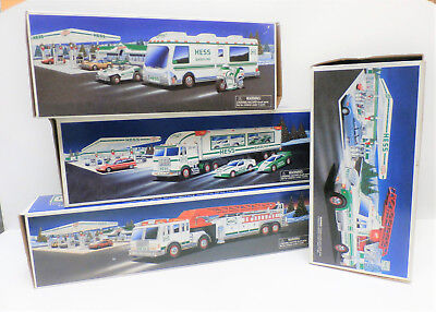 Hess Collectible Truck Lot of 4