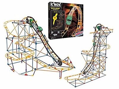 KNEX Raptors Revenge Roller Coaster Building Ages 9+ Toy Play Boys Ride Chain