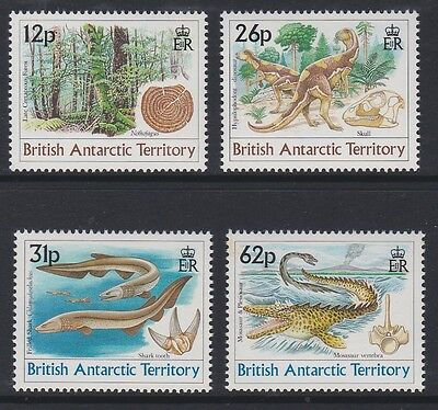 BAT 1991 Age of the Dinosaurs complete mint set sg188-191 MNH
