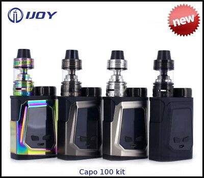 100% Authentic IJOY CAPO 100 VAPE KIT & BATTERY - CAPTAIN MINI - TPD certified