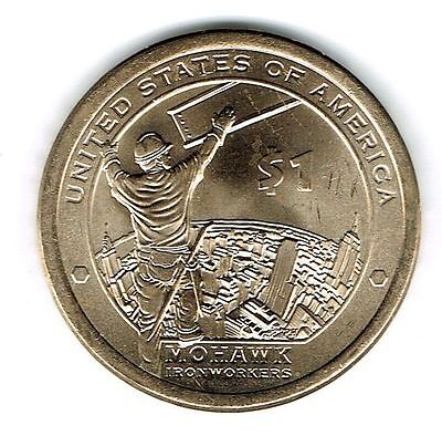 2015-P $1 Brilliant Uncirculated Business Strike Native American Dollar Coin!
