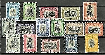 Portugal Sc#437-52 LH 3rd Independence Issue, 1928