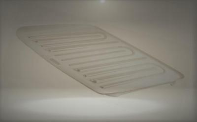 Rubbermaid Antimicrobial Drain Board Large, White