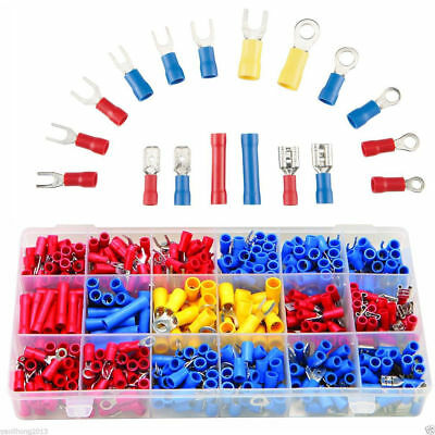 1200Packs Assorted Crimp Terminals Set Insulated Electrical Wiring Connector Kit