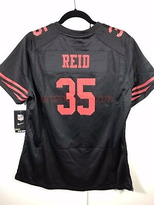 New NIKE FOOTBALL WOMENS On Field Jersey Eric Reid 35 San Francisco  for cheap