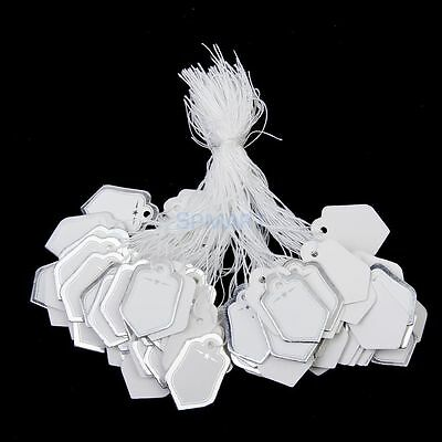 100x SHIELD Shaped Silver Lined Tags (T4) (C)=Boyz Tags SA