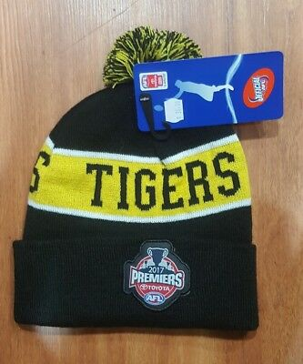 Richmond Tigers Premiers Premiership Beanie 2017