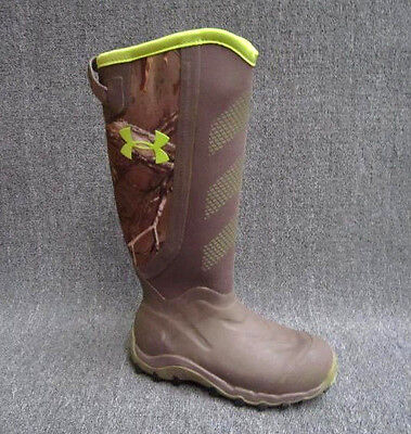 SIZE 8 UNDER ARMOUR HAW 2.0 Hunting Boot Men's 1261933-946 Realtree madillo