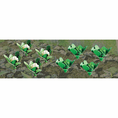 "JTT Scenery Products-HO Broccoli & Cauliflower, 3/8"" wide (20)"