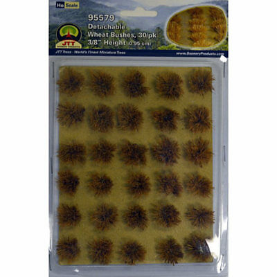 JTT Scenery Products-Wheat Bushes, 3/8' (30)