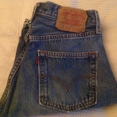 Levis Genuine 501 Button fly W29xL30 Made in Guatemala
