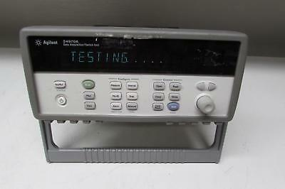 Agilent 34970A Data Acquisition Switch Unit w/ DMM