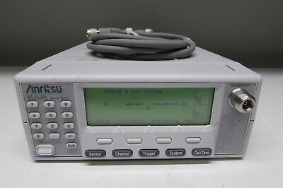Anritsu ML2438A High Accuracy Dual Channel RF Power Meter w/ D41346-2 cable