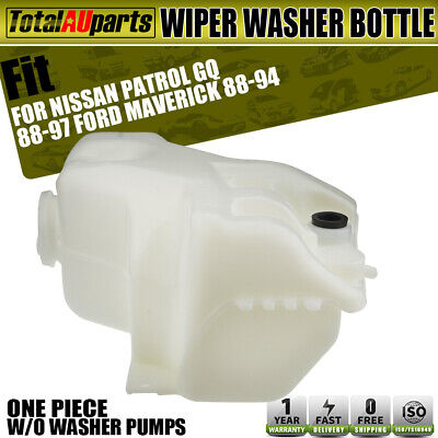 Wiper Washer Bottle for Nissan Patrol GQ Y60 Ford Maverick 4.2L UTE Without pump