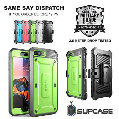 SUPCASE Unicorn Beetle Pro Full Body Rugged Holster Case for iPhone 6 6s 7 7Plus