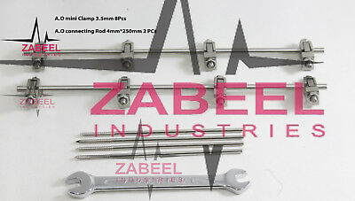A. O. External Fixator Clamp 3.5mm Orthopedic Surgical Medical ZABEELIND