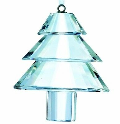 GALWAY Living Hanging Lead Crystal Traditional Christmas Tree Ornament Beleek
