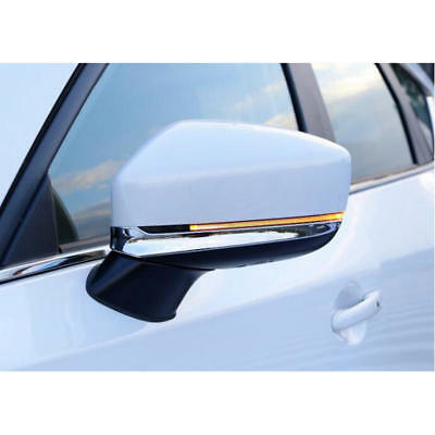 ABS Chrome Rear View Mirror Side Molding Trim  for Mazda CX5 CX-5 2017 2018