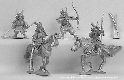 Old Glory Samurai Wars 25mm Clan of the Great Fiery Mountain #2 Pack MINT