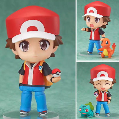 Pokemon Trainer Red #425 Bulbasaur Charmander Squirtle Nendoroid Action Figure