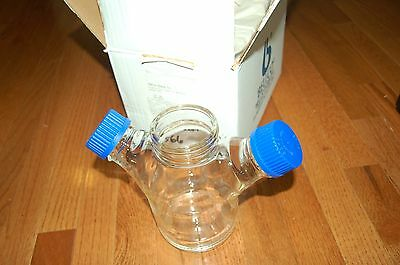 New Bellco spinner u-carrier reactor  Glass culture 0.5L  flask  500 ml  liters