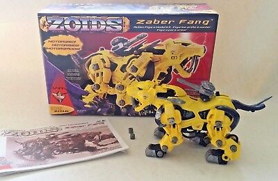 ZOIDS - ZABER FANG action figure model kit 1/72 Tomy # 016 Collections 2002
