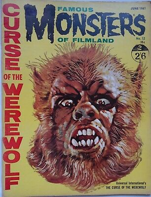 FAMOUS MONSTERS OF FILMLAND/  #12 /british edition