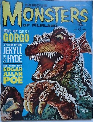 FAMOUS MONSTERS OF FILMLAND/  #11 /british edition