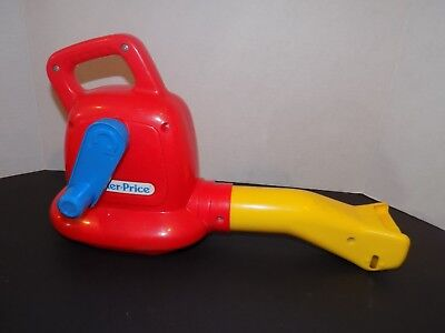 Vintage 1992 Fisher Price Bubble/Leaf Blower