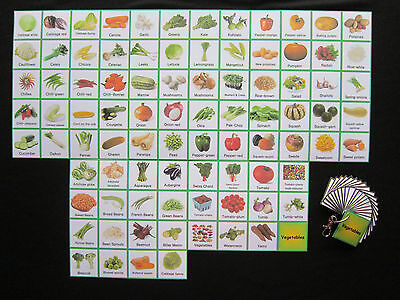 Vegetable Cards   Autism PECS  Non verbal  Early Yrs  Visual Aid  Dementia  ADHD