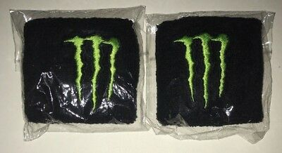 1 Pair Monster Energy Wrist Bands Sweatbands