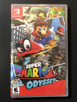 Super Mario Odyssey (Nintendo Switch) NEW
