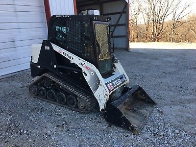 2012 Terex PT30 Skid Steer Loader, Cab, Heat, 1383 Hours, New tracks