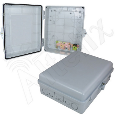 Altelix 14x11x5 Inch ABS Weatherproof NEMA Box Outdoor Equipment Enclosure