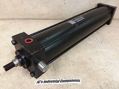 """Hydro Line,  4""""  Bore  X  20""""  Stroke,  Pneumatic Cylinder,  250 Psi"""