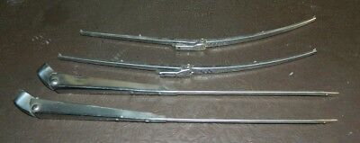 HD HR Holden Chrome Windscreen Wiper Arms and Blades