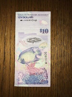 10 Dollars BERMUDA 🇧🇲 🇧🇲 Banknote World Money, Foreign Currency 2009