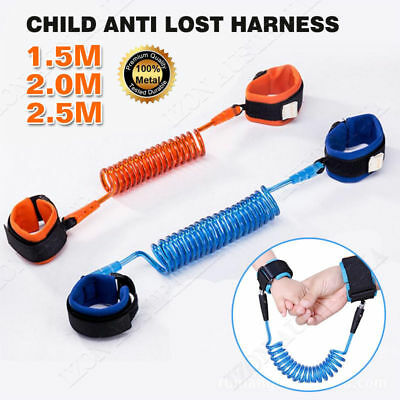 Anti Lost Wrist Link Safety Anti Lost Leash Belt Wristband for Toddlers Child
