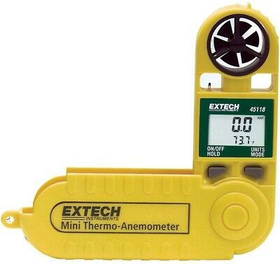 Extech Mini-Thermo Digital Anemometer Air Wind Speed Measure Meter