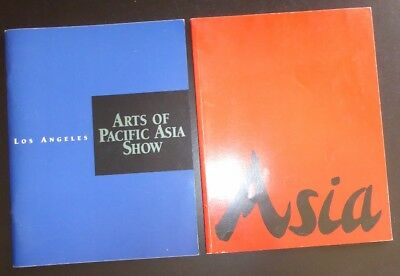 Los Angeles Arts of Pacific Asia Show Lot of 2 - 1994 and 1997 Asian Chinese Art
