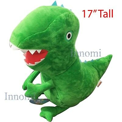 "17"" Tall George Dinosaur Peppa Pig Plush Doll Soft Stuffed Animal Toy"