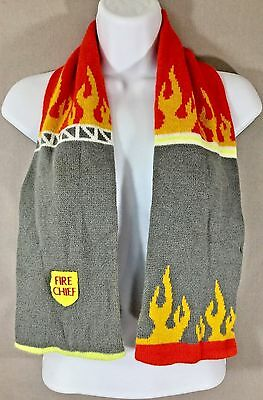 Kidorable Boys Fire Chief Knit Scarf