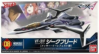 [FROM JAPAN]Mecha Collection Macross Delta VF-31F Siegfried Fighter mode (Me...