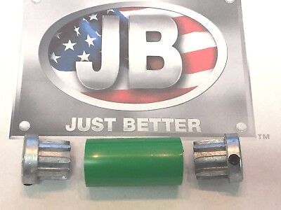 J/B Industries Vacuum Pump Flexible Coupler, Heavy Duty HYTREL Material, PR-53-G