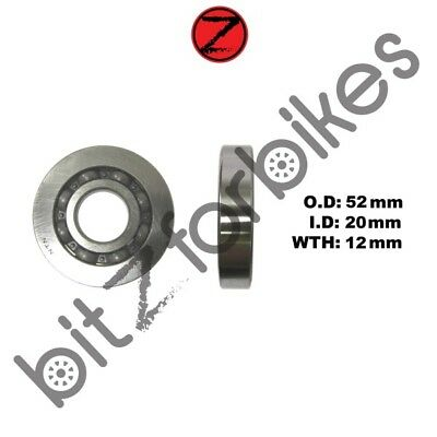 Crank Bearing Left Hand Piaggio Zip 50 2T Front Drum Model (1992-1996)