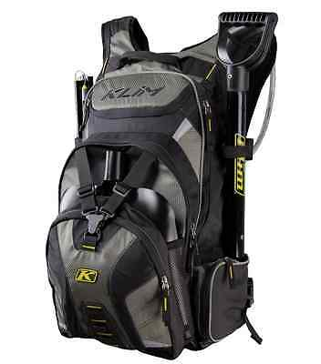 Orange HMK Shovel Klim Krew Pak Snowmobile Mountain Pack Hydration Backpack Crew