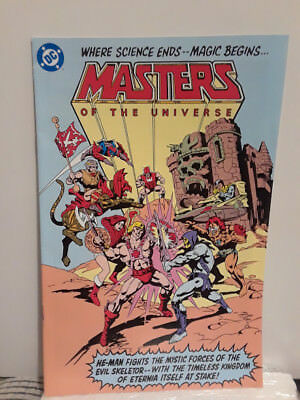 Masters of the Universe 2009 reprint of 1982 preview FN+ DC Mattel